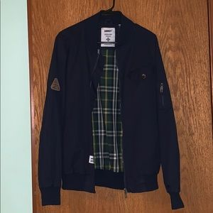 ADDICT Clothing Jackets & Coats - Navy Bomber Jacket